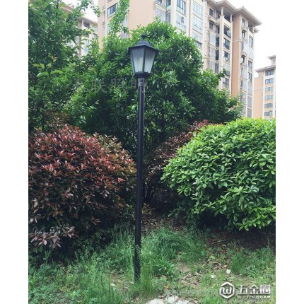 3m新款直六角庭院灯led路灯  户外灯景观灯花园灯室外灯道路灯