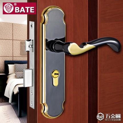 供应【德国巴特五金】室内门锁 卧室实木门执手锁具 锌合金锁B512-61