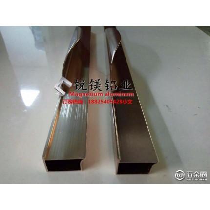 锐镁铝业铝合金橱柜拉手拉手铝材系列 铣型拉手 精加工拉手 专业定制