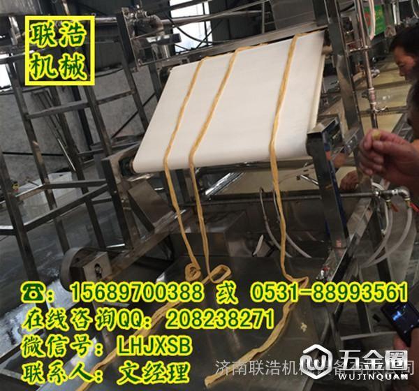 腐竹油皮机生产的腐竹展示