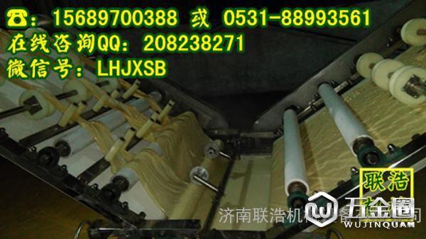 腐竹油皮机生产过程展示