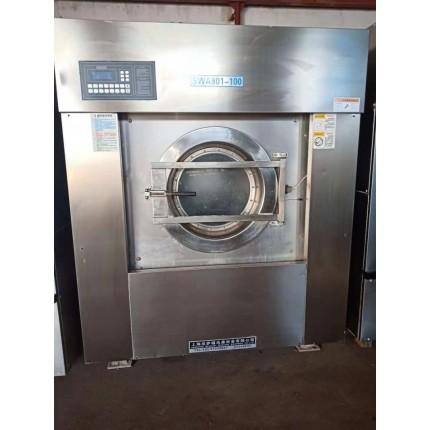 深州市高价出售二手洗衣房成套设备二手50公斤
