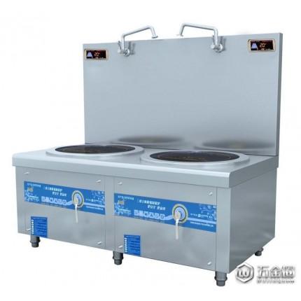 大功率电磁炉 科创电磁双头矮汤炉 厨房电器 商用厨房用具