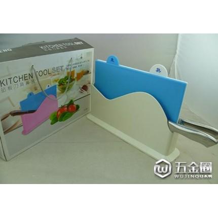 厂家直销 风帆 多色砧板套装 砧板刀具架 厨房用具 TV产品 批发