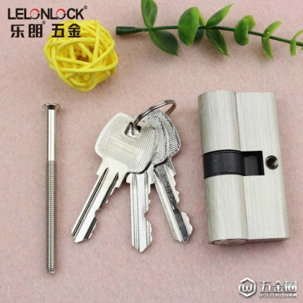 RCR-03双开普通钥匙锁芯直销全铜木门70mm全铜锁芯室内门锁胆锁头