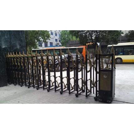 大量供应优质不锈钢电动伸缩门