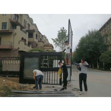 郑州广告门 平开门 平移门 设备 价格