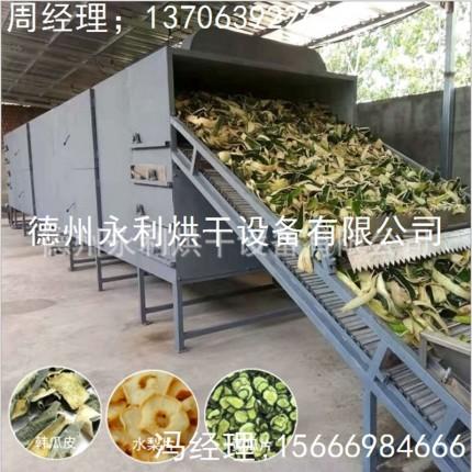 新品上市 果蔬烘干设备 不锈钢带式干燥设备
