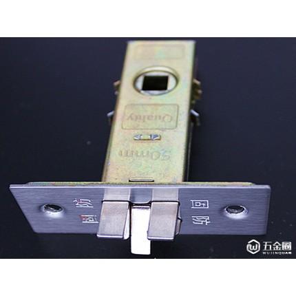 不锈钢锁,室内不锈钢锁,304门锁 单舌 双舌 电子锁 50锁利