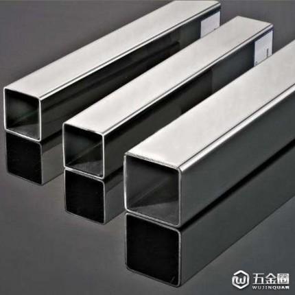 银鲸牌 201不锈钢方管 19*19*0.5*6000 不锈钢焊管 不锈钢方通管 免费取样 厨房用具