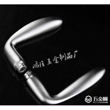 优质网商 氧化铝室内锁具 太空铝门锁 D802 热销产品