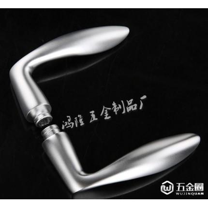 氧化铝室内锁具 太空铝门锁 特价 D808 热销产品