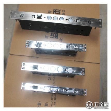 专业生产轴承锁体门锁配件钢木门锁体双舌室内锁芯重弹簧锁点防锯
