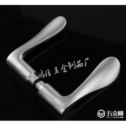高品质 氧化铝室内锁具 太空铝门锁 低价 D806