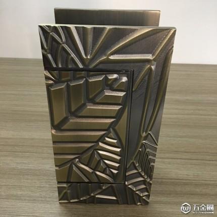 【推荐】厂家直销青古铜方形雕刻拉手豪华大拉手别墅欧式大门拉手酒店大门拉手