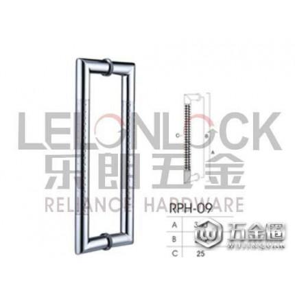 LELONLOCK乐朗直销不锈钢304大门拉手 豪华玻璃门拉手 玻璃门拉手 优质玻璃门大拉手304材质可定做