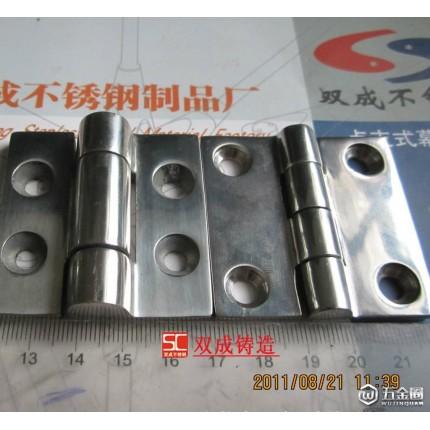 【厂价直销】304不锈钢铰链 厚铰链 门锁铰链 合页 铰链