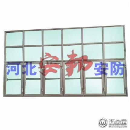 家庭防护门窗、河北碳结钢板直销钢质泄爆窗,单开门泄压窗,可定制