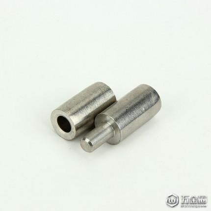 大量生产 不锈钢圆柱插销 电柜合页 不锈钢圆柱铰链 φ14 二联