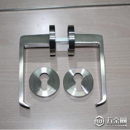 RAFES来福时F7420  门锁 不锈钢304精铸把手欧式门锁  室内门实木门执手锁配纯铜锁芯