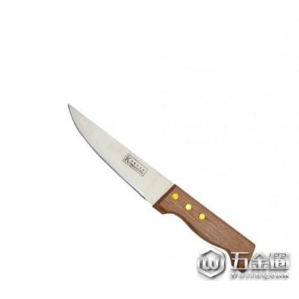 家居日用品厨房用具7寸木柄刀