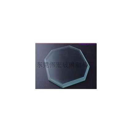 东莞市厚街伟宏玻璃加工 供应优质八边形  室外灯具玻璃   钢化玻璃  LED照明灯具配件专用  LED灯饰透镜