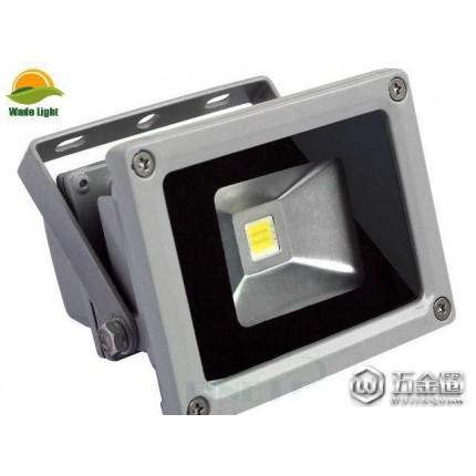 户外防水泛光灯节能LED射灯室外灯户外投射灯广告灯 10W 暖白光