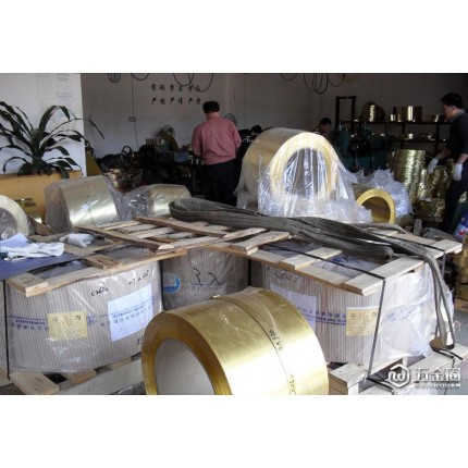 C2620铜带批发商 东莞电子原材料冲压 0.05mm铜带