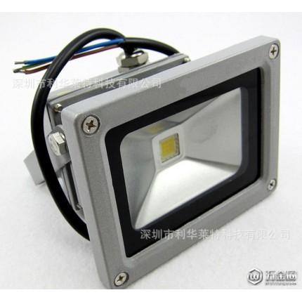 晶元Epsitar 大功率防水LED投光灯10W防水户外灯室外灯泛光灯广告灯20W30W50W100W投射灯