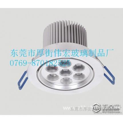 东莞市厚街伟宏玻璃加工 供应优质舞台灯、射灯用  室外灯具玻璃   钢化玻璃  LED照明灯具配件专用  LED灯饰透镜