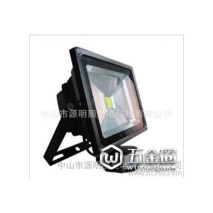 30W LED感应泛光灯 景观灯 LED投光灯 室外灯 人体感应灯