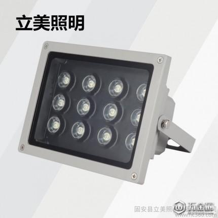 LED投光灯 48W 庭院灯 草坪灯 花园装饰灯 室外灯具 工程灯 户外防水
