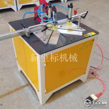 振鹏 门窗铝材切割机晶钢门切断机铝合金锯型材切割机精密锯45度切角机