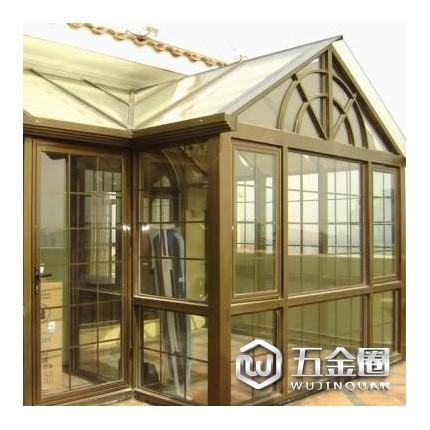 供应艾斯兰德牌门窗、门窗批发 中空玻璃阳光房