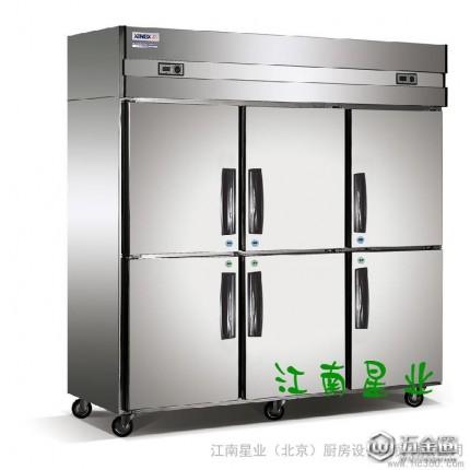 供应江南星业酒店厨房设备工程 六门冰箱 四门冰箱  制冰机    厨房设备厂家  厨房用具