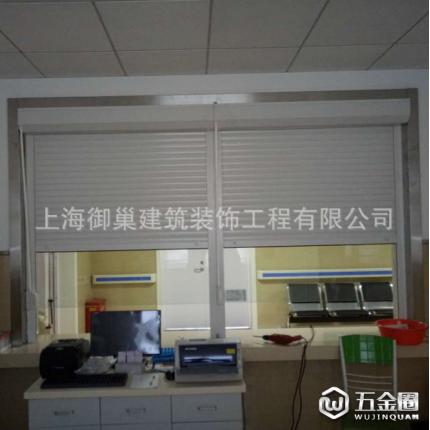 御巢 上海卷帘卷定制安装 电动防盗卷帘门窗 别墅商务楼铝合金卷帘窗
