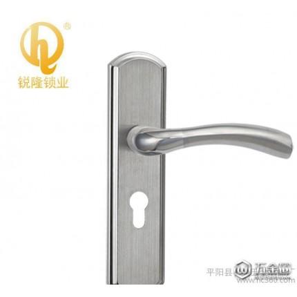 锐隆锁业室内门锁5046不锈钢执长锁50门锁系列 温州锁厂直销批发