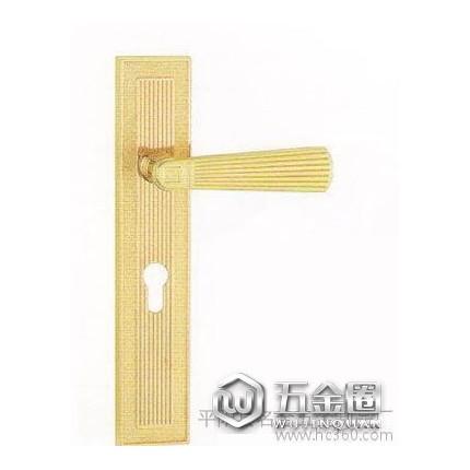 【锐隆锁业】58010执手锁K金单色室内门锁双舌锁58双轴承反提锁体