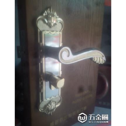 厂家直销 室内把手门锁 琥珀门锁 机械锁具 双舌轴承 欧式 金色鎖1636锁