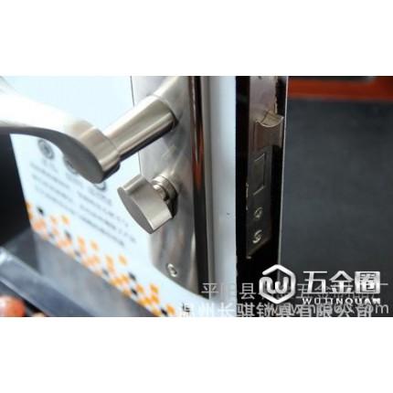 厂家便宜铝合金 低中档带轴承自抬室内门锁905