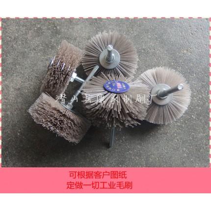 抛光花头刷 圆盘刷 磨料丝除毛刺花头刷 打磨盘刷