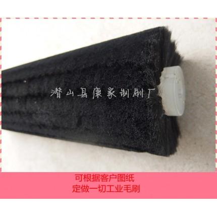 羊毛刷辊 清洗猪鬃尼龙丝毛刷辊 耐高温耐酸碱耐用 卖刷丝材料