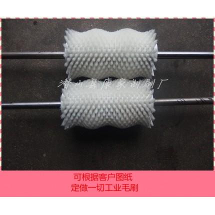 异型毛刷 抛丸毛刷 刷桶机尼龙丝毛刷辊 异型工业用耐高温刷子