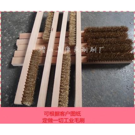 表面处理抛光刷子工业异型毛刷管道内孔清洗刷除毛刺试管刷