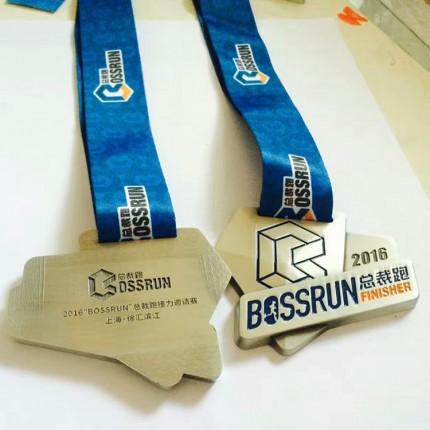 金属工艺品 四川成都线上马拉松奖牌 国际马拉松锦标赛荣誉奖牌