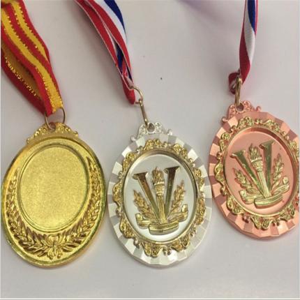 专业制作个性烤漆马拉松奖牌 金属学校运动会锌合金奖牌制作
