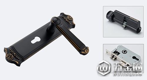 锁体锁芯锁面板