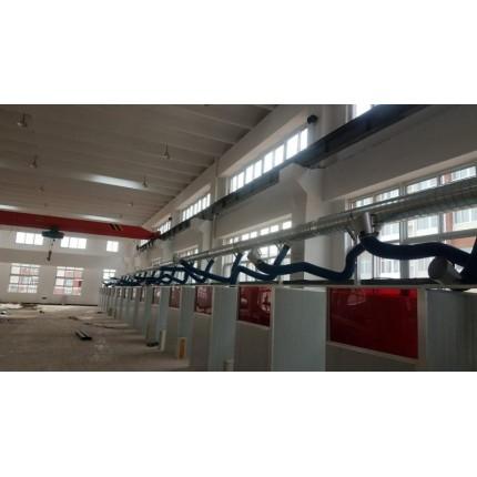 废气治理工程,多工位焊接废气处理系统