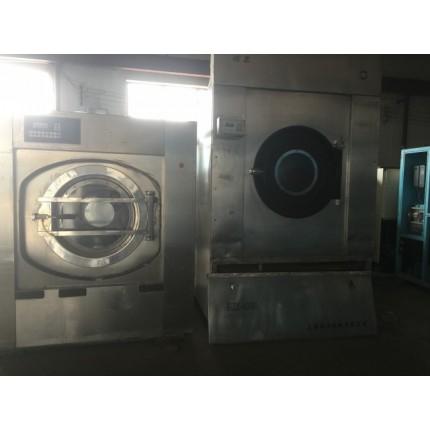 沈阳二手转让海狮100公斤水洗机出售了酒店布草洗涤设备