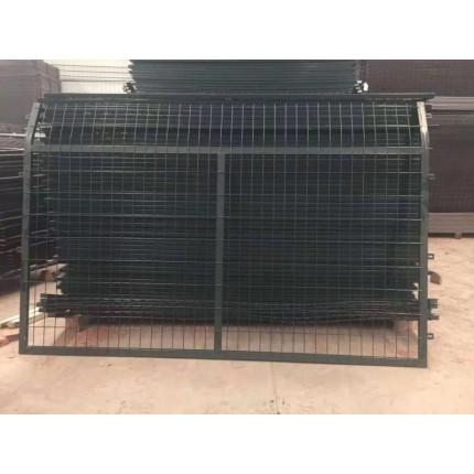 河北东联厂家直销铁路专用8001水泥立柱护栏网 框架防护网